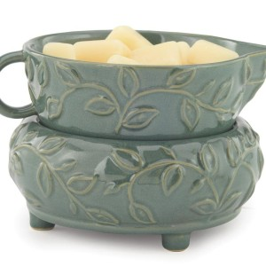 candle warmer mint