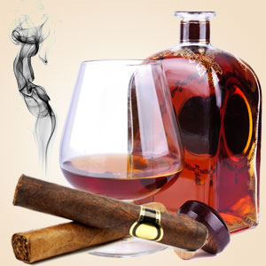 cognac and cubans